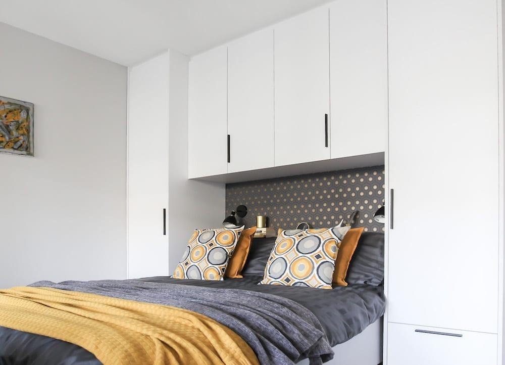 kleine slaapkamer kastombouw