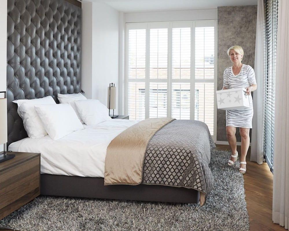 hotel slaapkamer inrichten