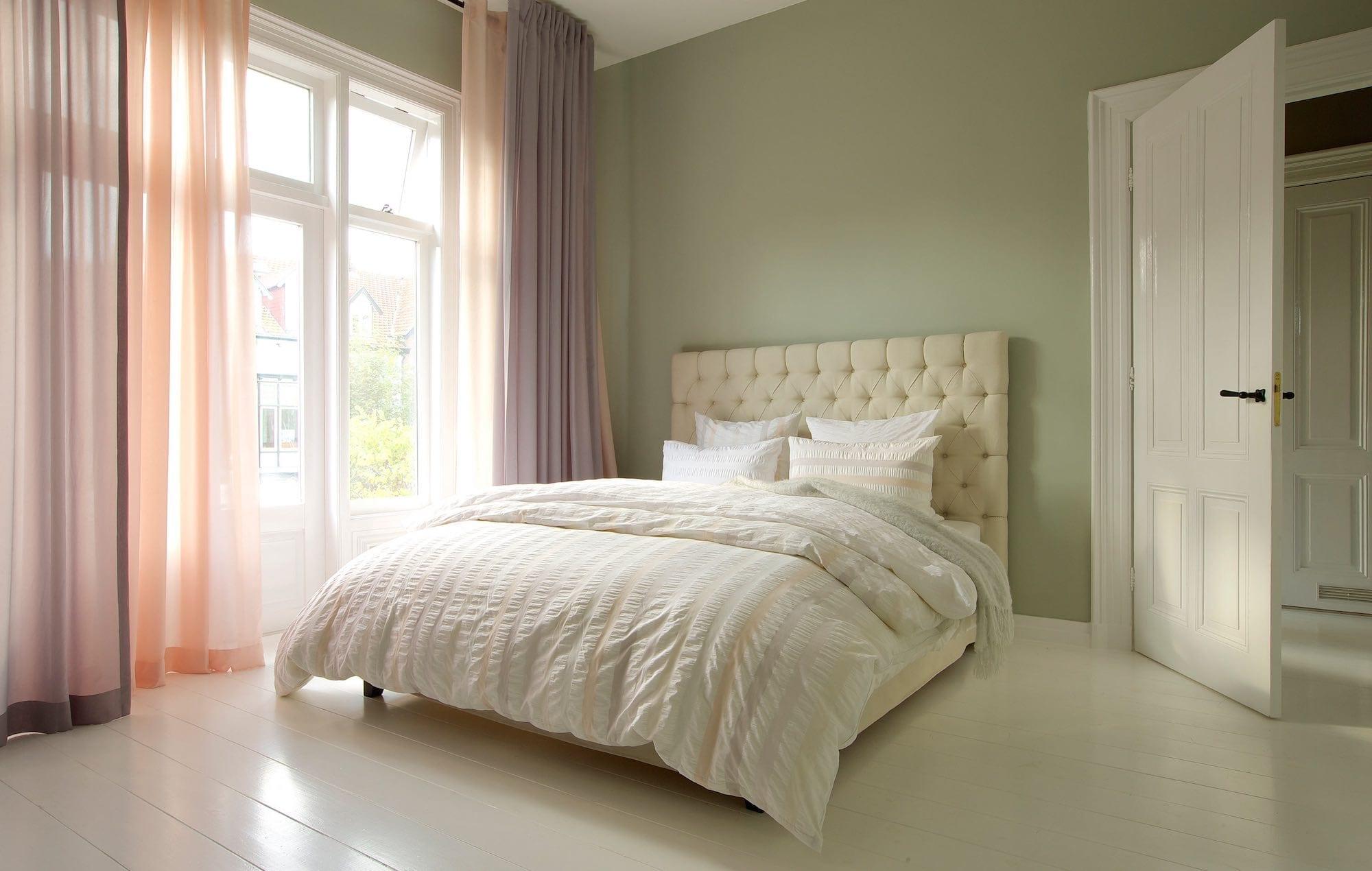 slaapkamer gordijnen vitrage
