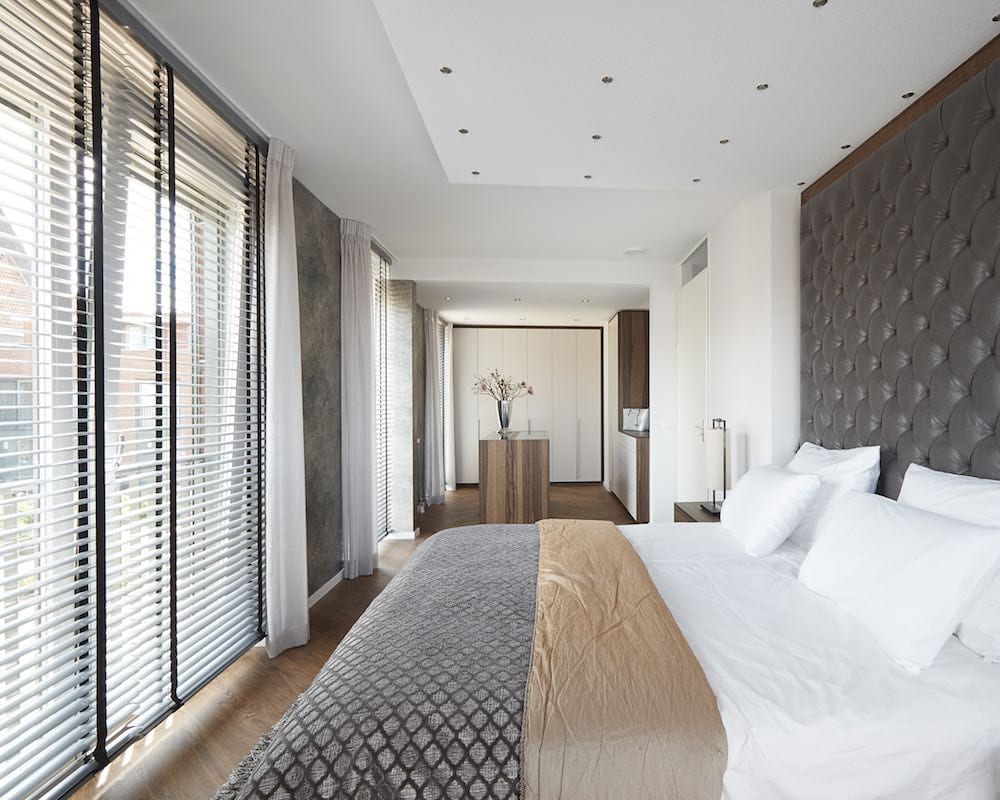 slaapkamer raamdecoratie combineren