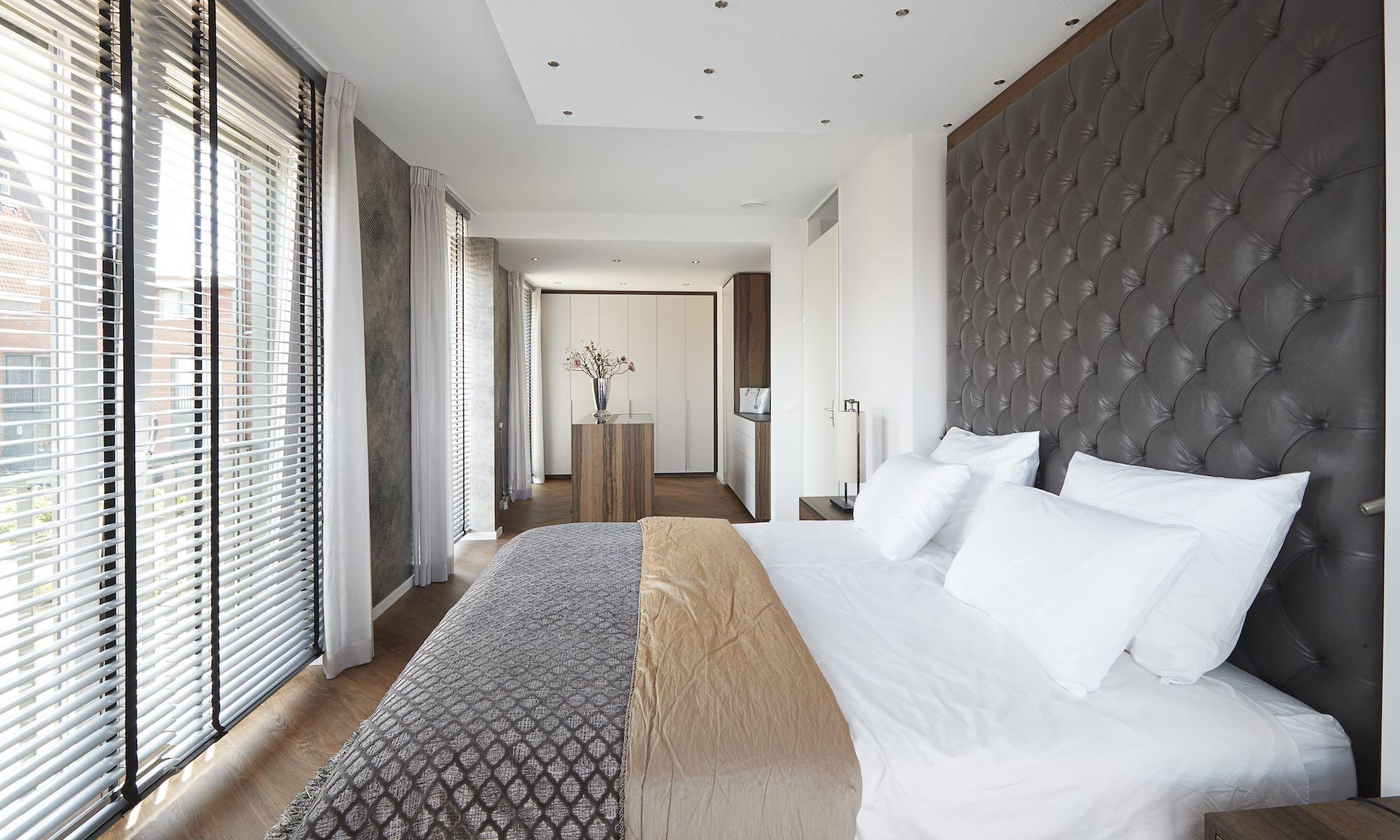 slaapkamer raamdecoraties combineren