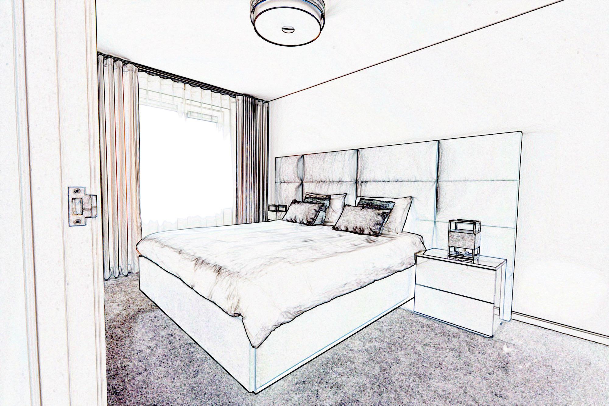 3D ontwerp design bed Scatole
