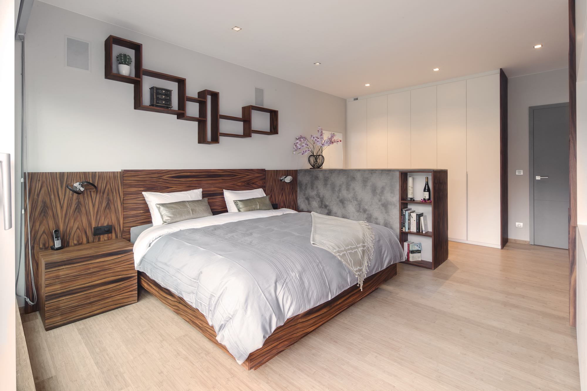 houten bed van palissander