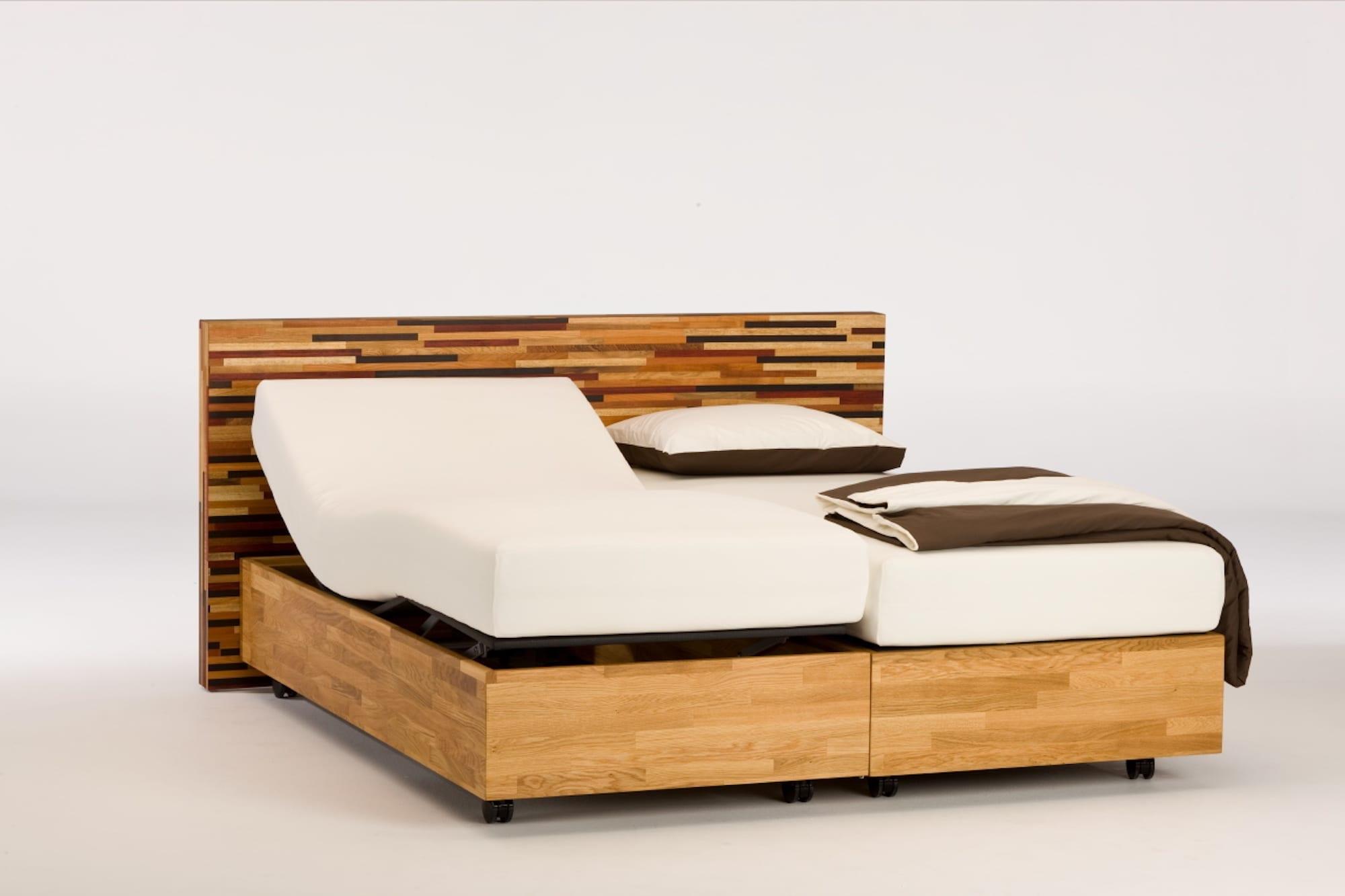 houten boxspring