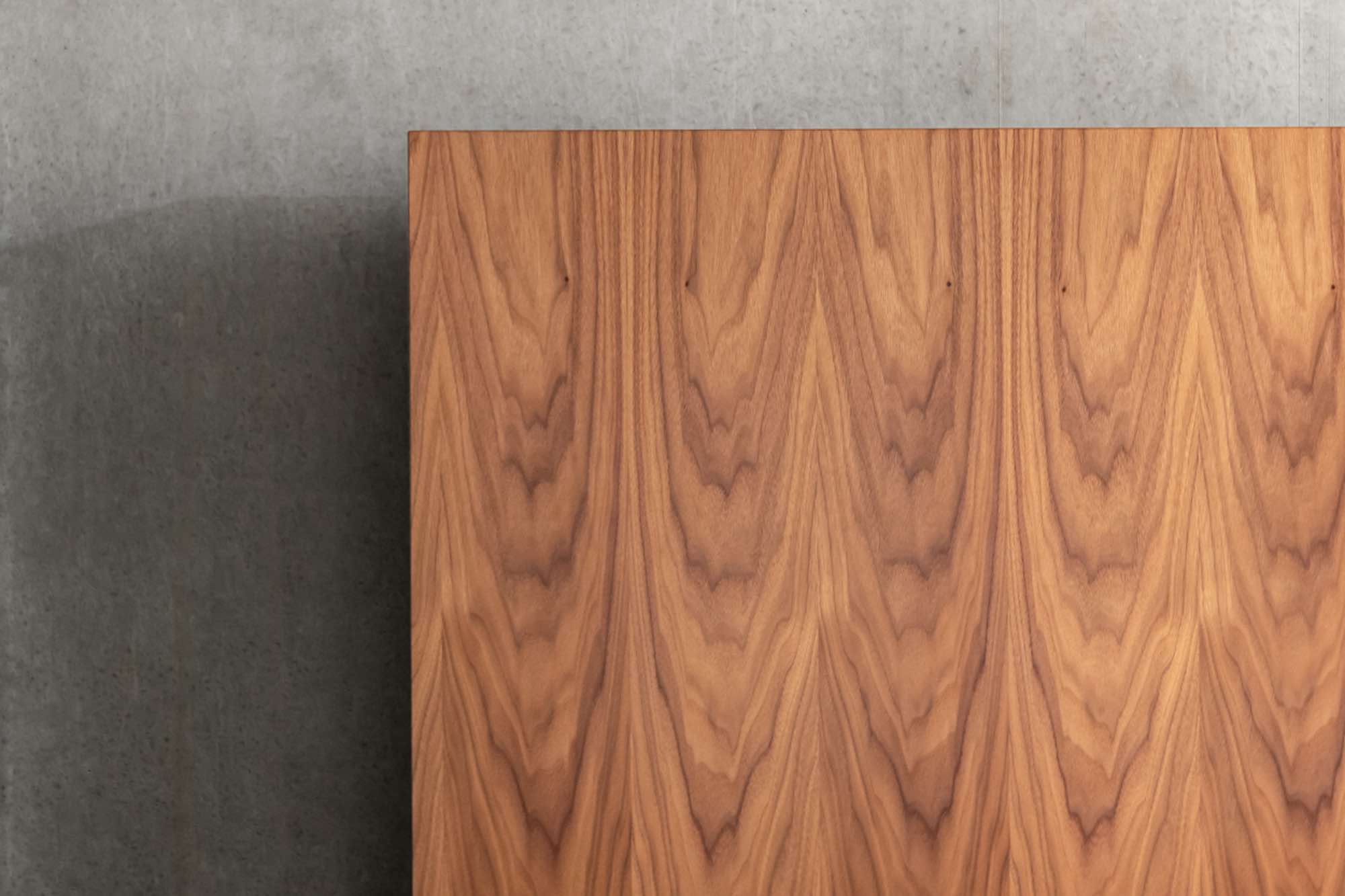 detail houten design bed