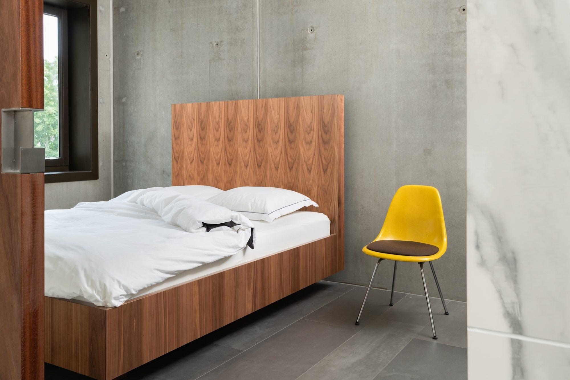 design houten bed