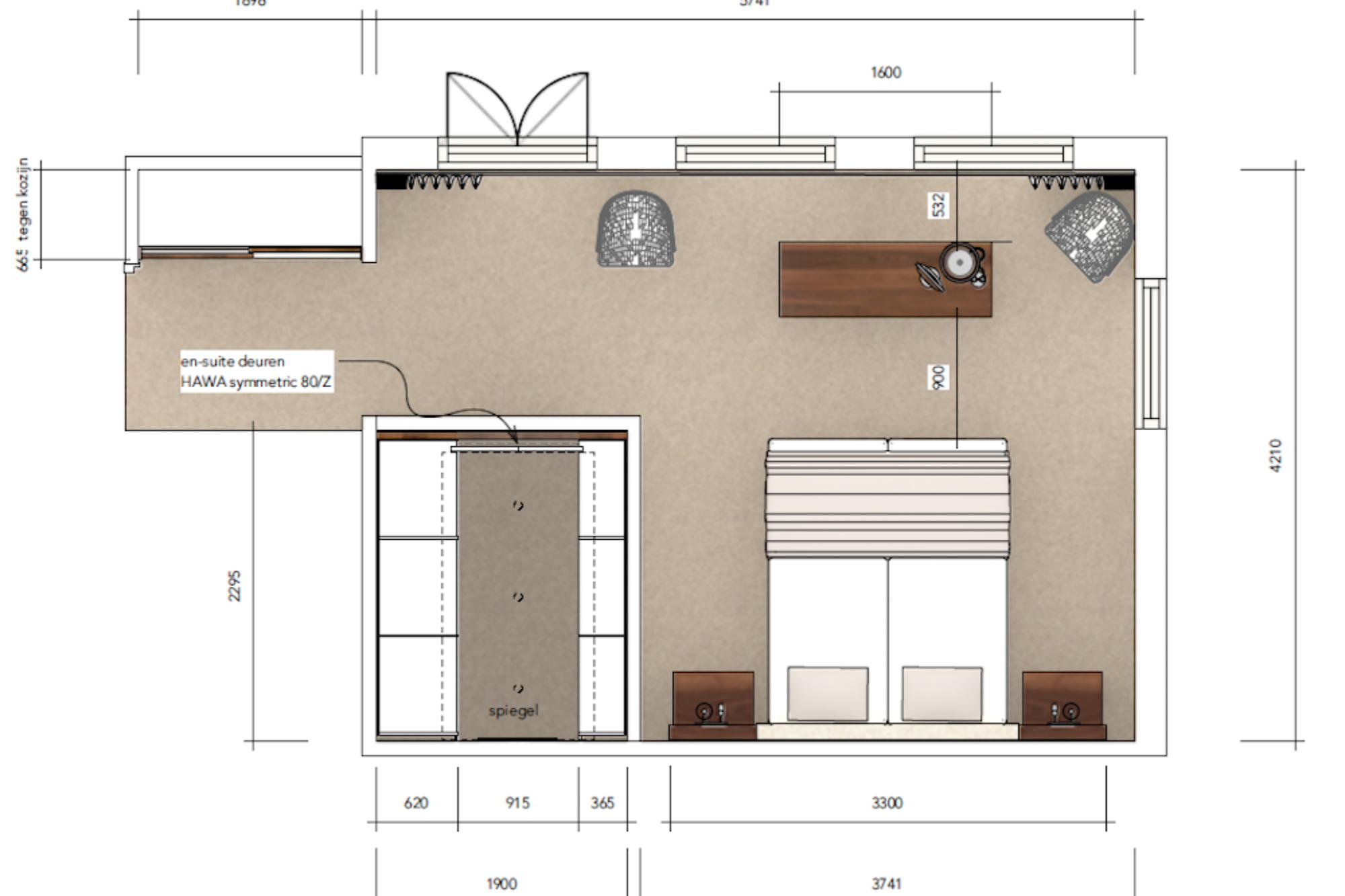 senioren-slaapkamer-plattegrond