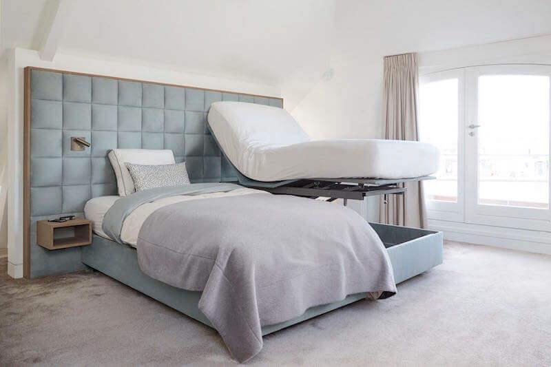hoog laag bed
