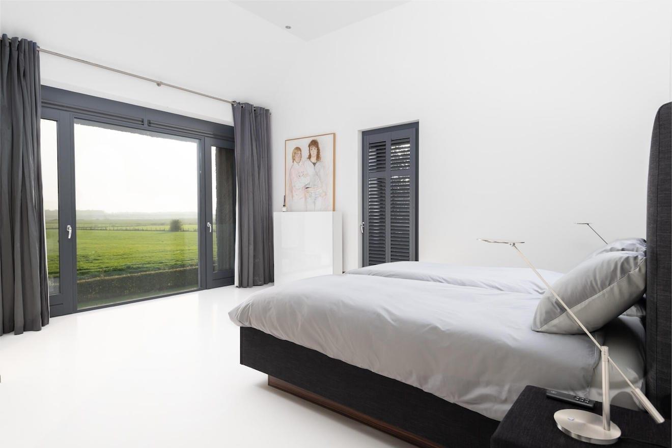 Genieten van het uitzicht vanuit bed, model Roma