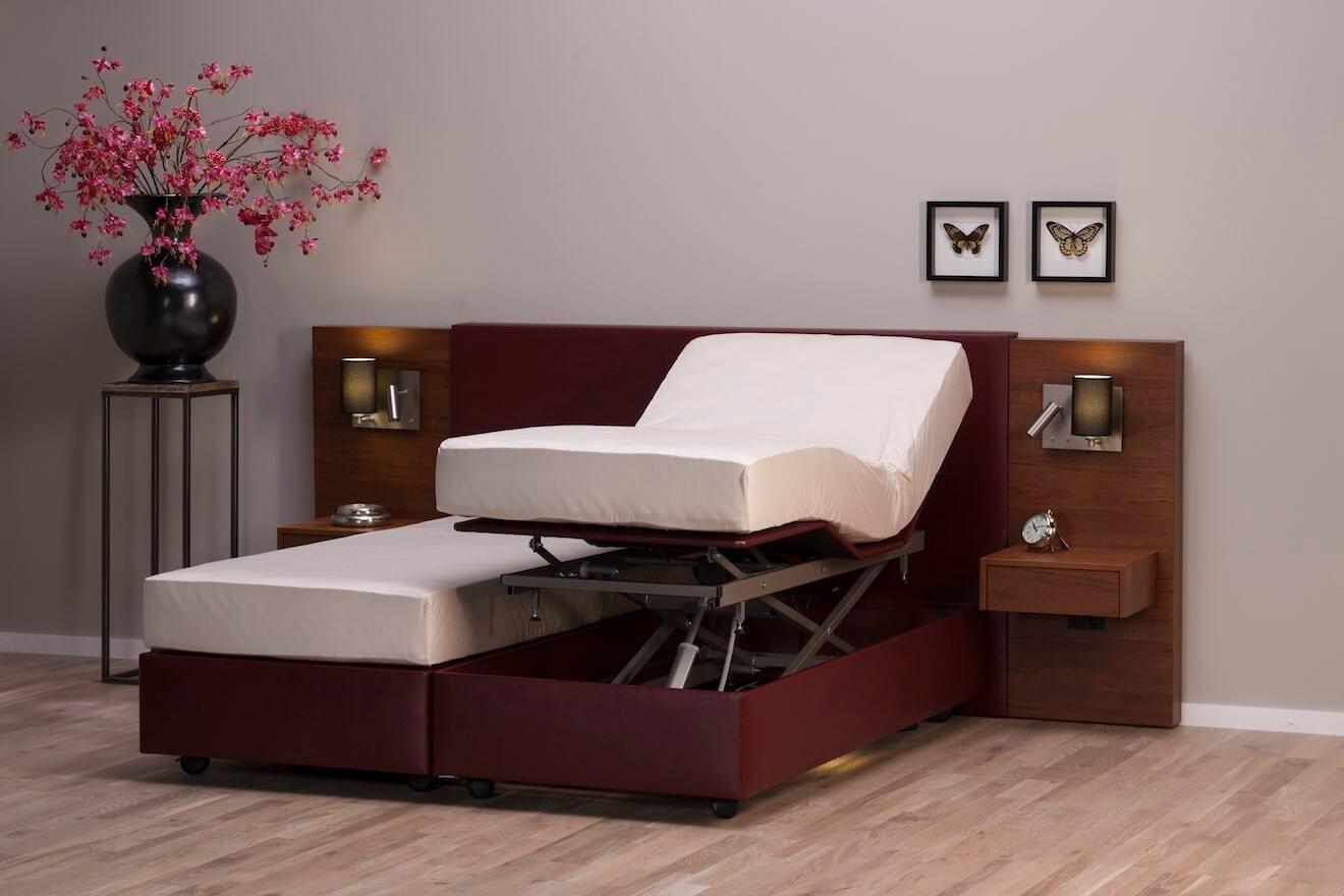 Hoog laag bed Durante in de hoge stand