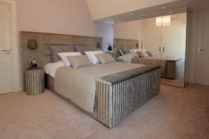 Luxe bed Scatole