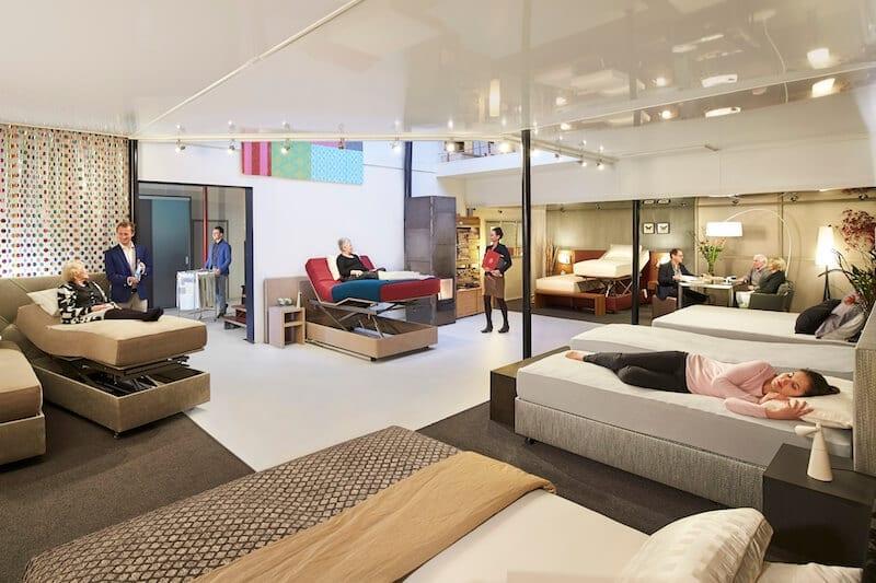 Bezoek onze showroom met luxe bedden en boxsprings