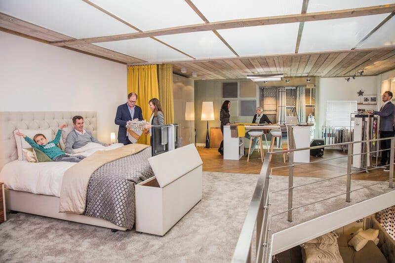Bezoek onze showroom met prachtige slaapkamers en kasten