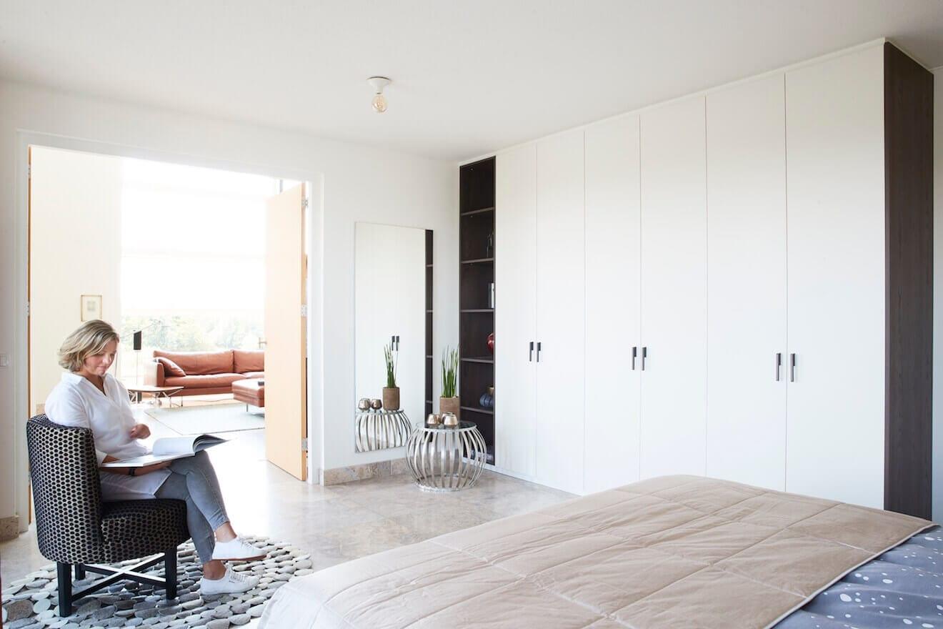 Complete slaapkamer met kledingkast op maat