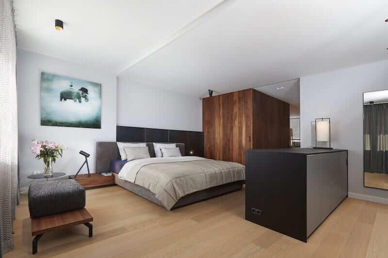 Grote slaapkamer ontwerpen