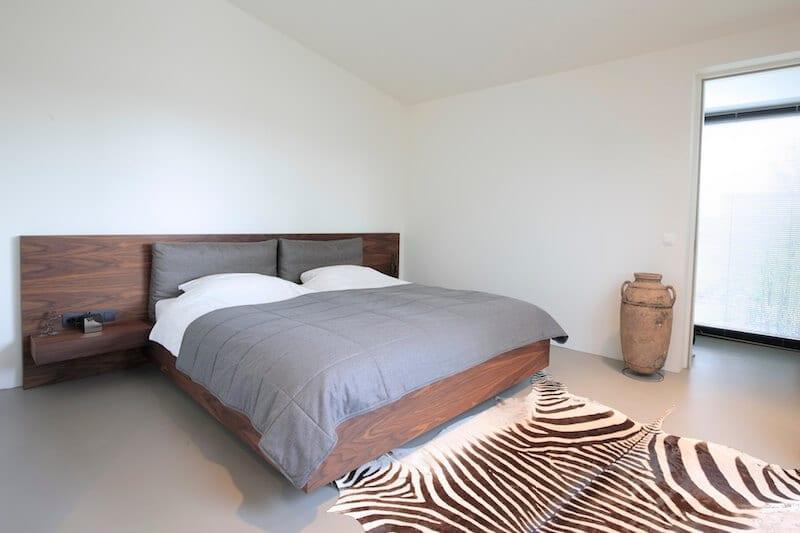 Luxe houten design bedombouw