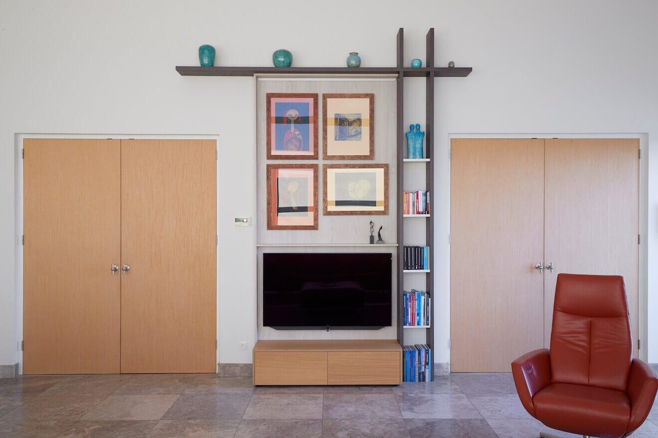 Design wandmeubel voor TV