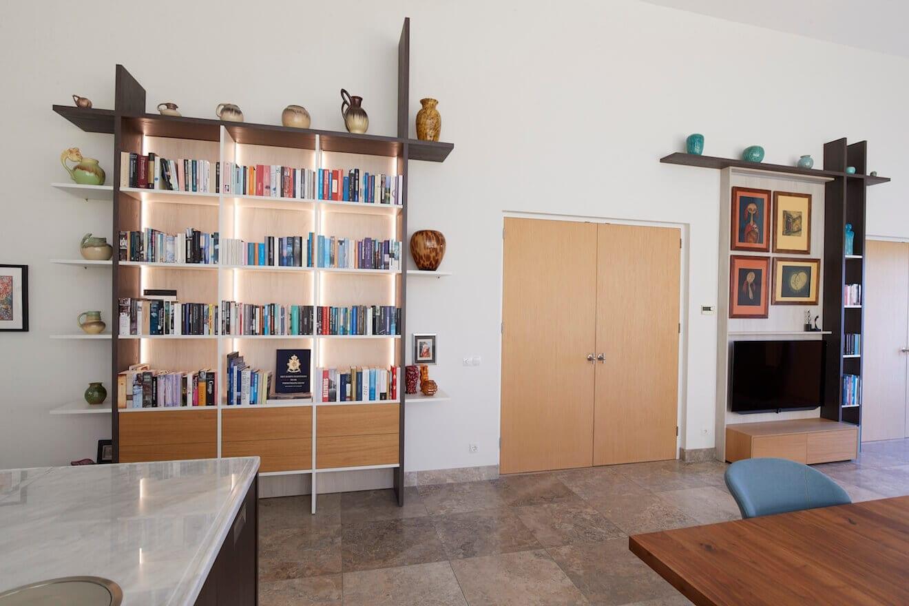 Design wandmeubel voor woonkamer