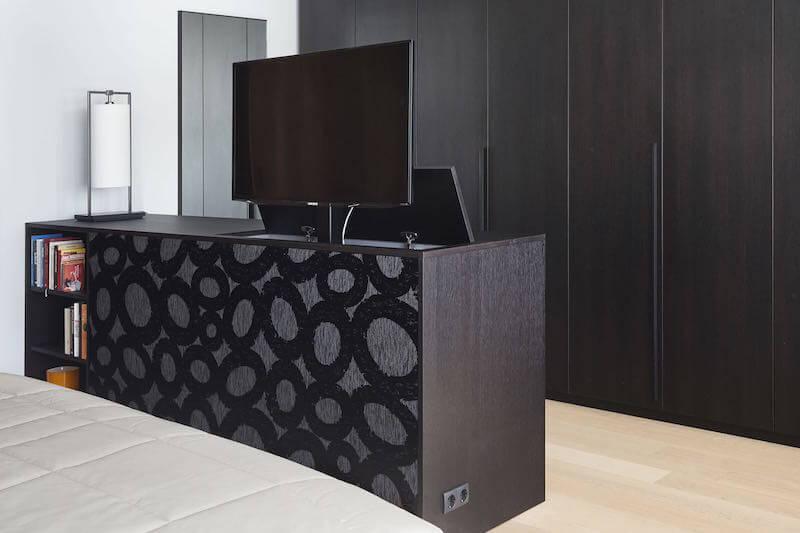 TV-lift in de slaapkamer