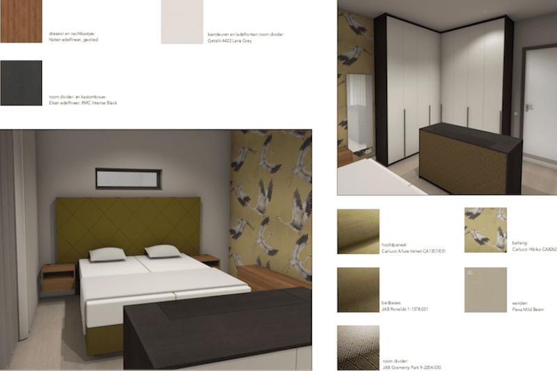 Voorbeeld van een slaapkamer ontwerp