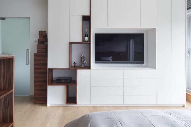 TV meubel voor de slaapkamer