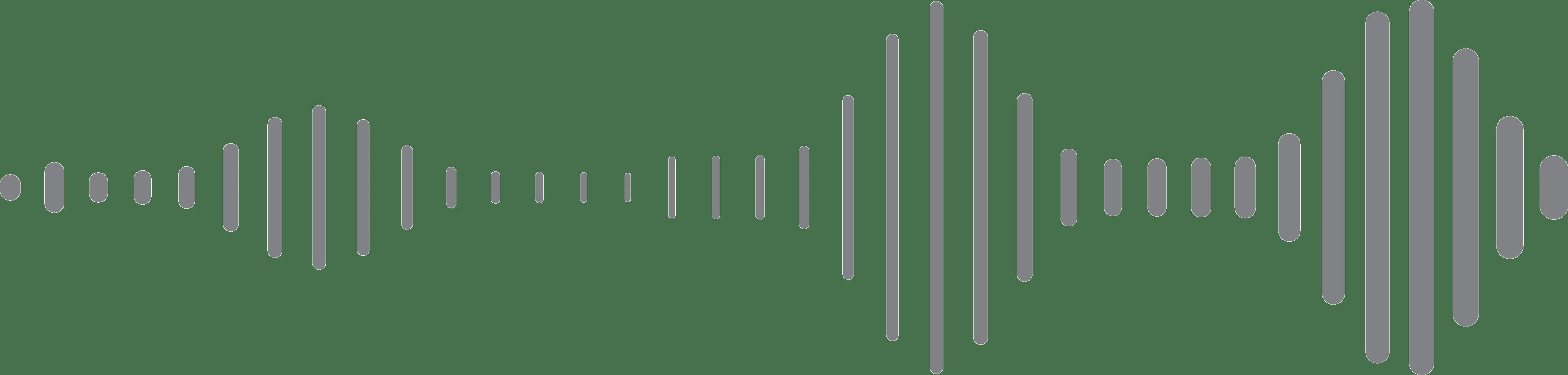 pulserende beweging van een laag frequente geluidsgolf