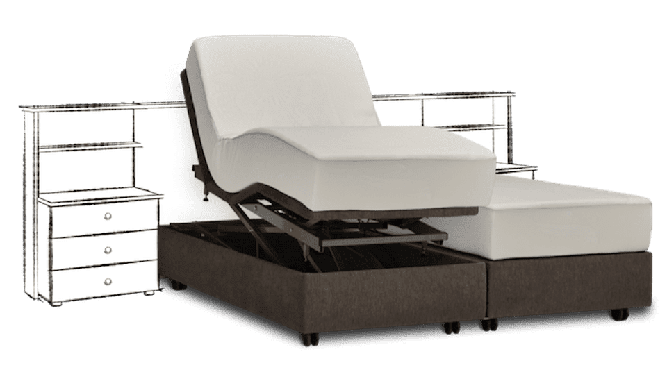 hoog laag bed zonder hoofdpaneel