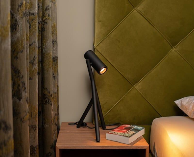 bedlamp Medard in de kleur zwart
