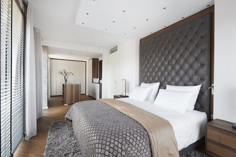 luxe slaapkamer inrichting zoals in luxe hotel